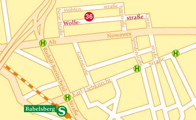 Wollestraße, Babelsberg