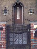 Tür für Anfahrt