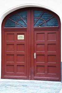 Tür für Mediation